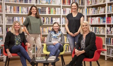Das Team der Bibliothek Montafon