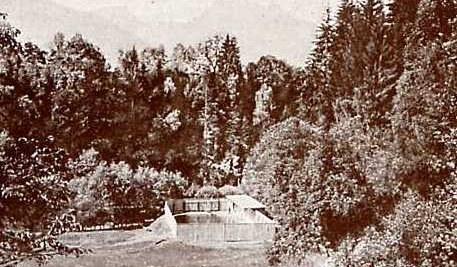 Das erste Schwimmbad im Montafon