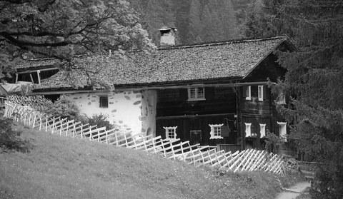 Die ehemalige Säumerstation Zuggawald