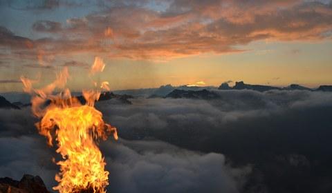 Johannis- oder Sonnwendfeuer im Montafon