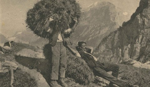 Kontakt über die Grenze zwischen Montafon und Prättigau