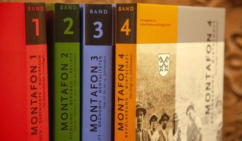 Buchreihe Montafoner Geschichte