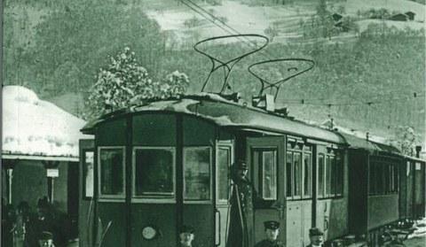 Entlang der Montafonerbahn
