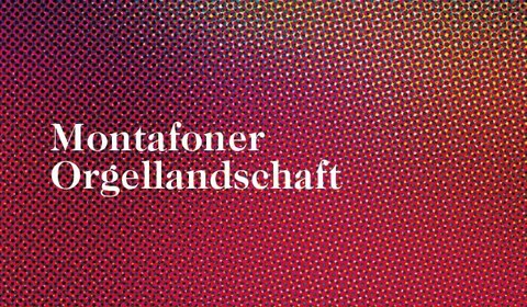 Montafoner Orgellandschaft