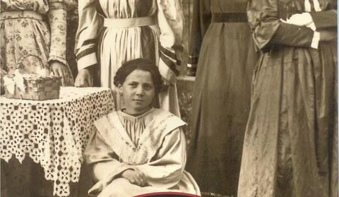 Schruns um 1920. Fotografien von Adele Maklott