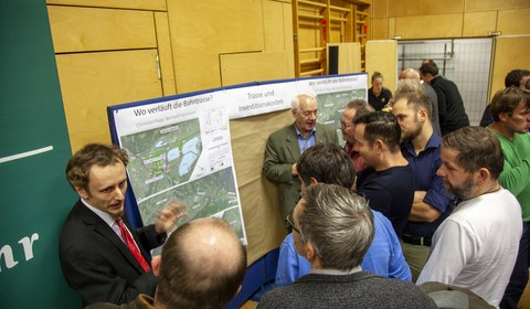 Infoabend zum Bahnausbau Montafon