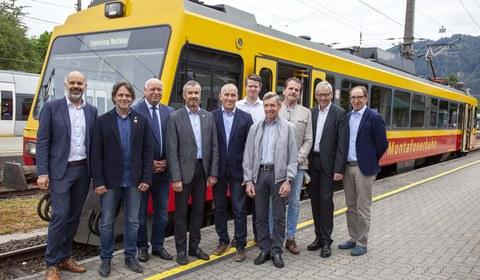 """Präsentation Machbarkeitsstudie """"Bahnausbau Montafon"""""""