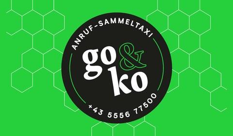 """""""go&ko"""" Anruf-Sammeltaxi Montafon"""