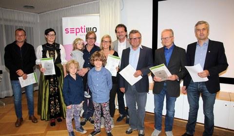 Verleihung Montafoner Baukultur 2015