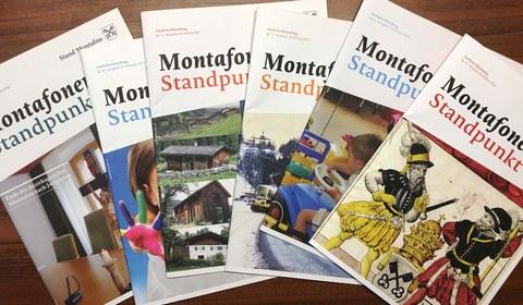 """Infomagazin """"Montafoner STANDpunkt"""""""