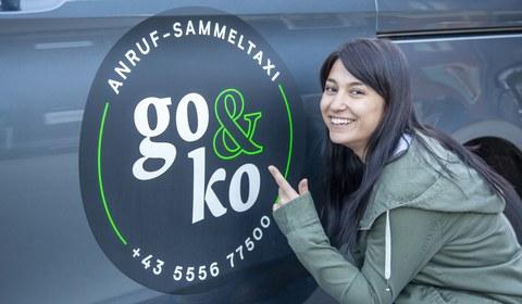 "Anruf-Sammeltaxi ""go&ko"" feiert 2-jähriges Jubiläum"